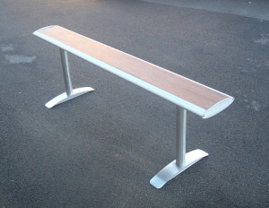 Outdoor beam seating